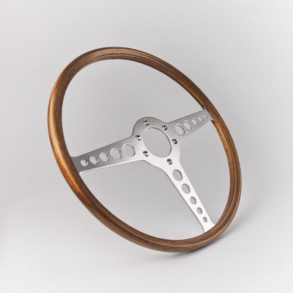 E-Type OEM Mahogany Rim T-spoke