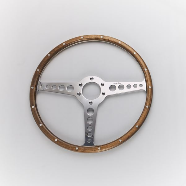 E-Type OEM Wood Rim with Rivets T-spoke
