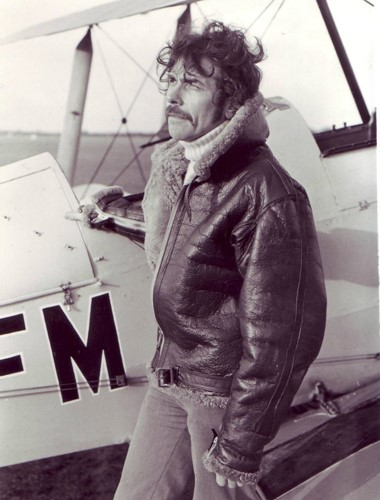 Simon sporting an Irvin Flying Jacket, circa 1976