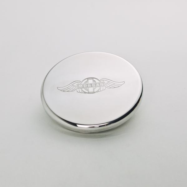 Morgan Engraved Billet Cap
