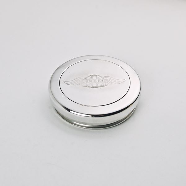Morgan Engraved Billet Horn Button